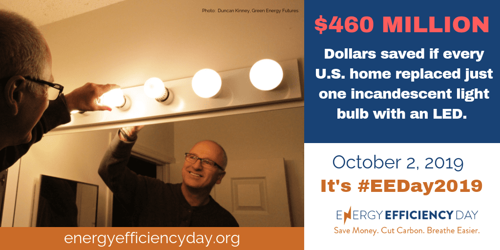 Energy Efficiency Day – October 2, 2019!